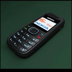 nokia 1208 3d model