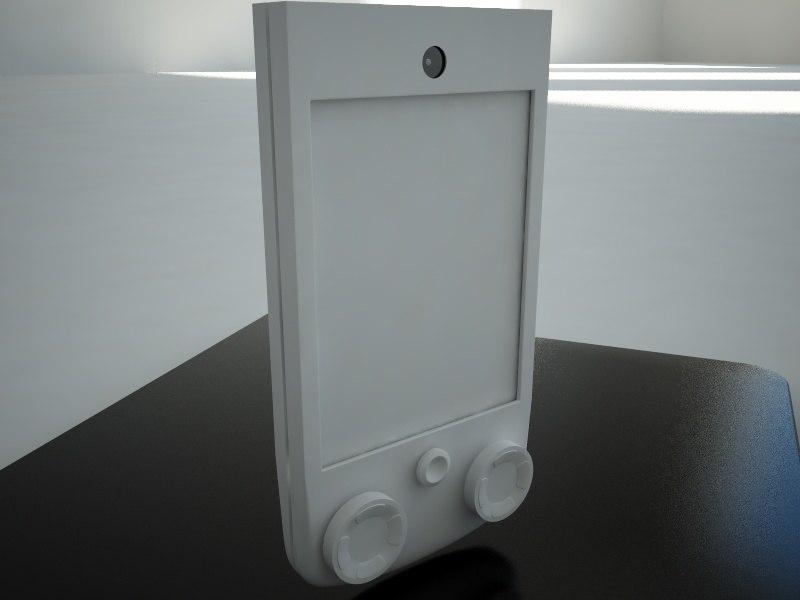 modern pda 3d 3ds