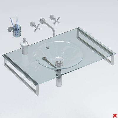 sink basin 3ds