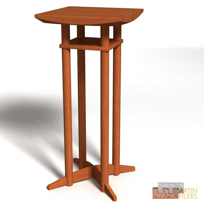 3d -desk standing-desk