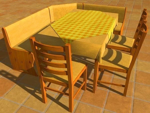 free c4d mode kitchen table