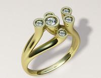 """Woman""""s ring17.5mm modelB061v001"""
