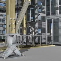 modern architecture jourda perraudin 3d model