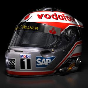 fernando alonso helmet 3d max