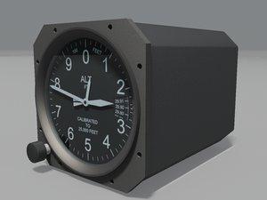 altimeter airinc aircraft max