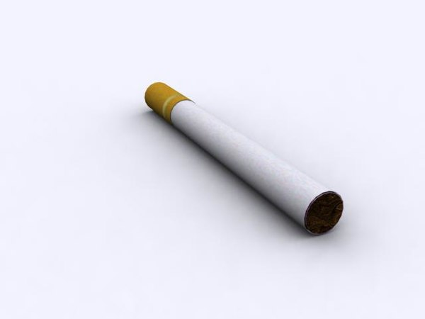 free cigarette 3d model