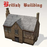 Old British Building 02