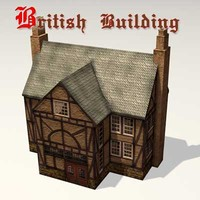 Old British Building 05