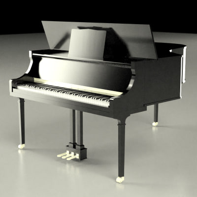clavier 3d model
