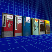 Cola Machines Retro Collection 01