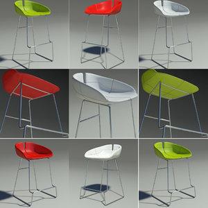 3ds fjord bar stool