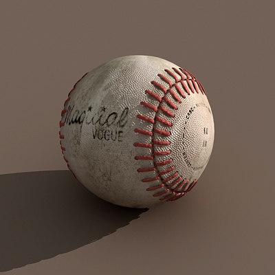 maya baseball dirty ball