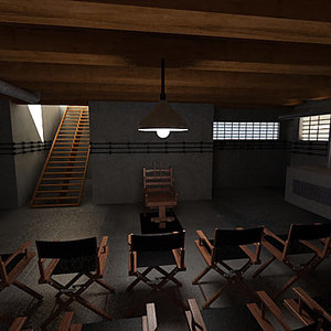 execution room 3d model