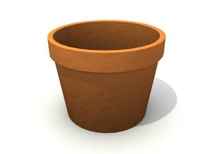 3ds max terra cotta pot