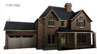 build suburb housing pack 3d 3ds