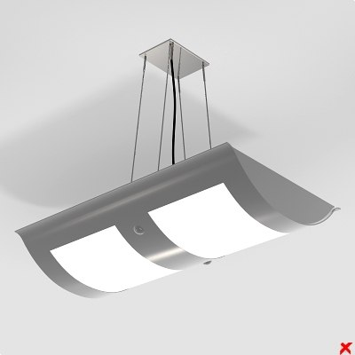 3ds lamp hanging