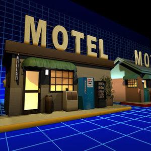 motel office 01 3d max