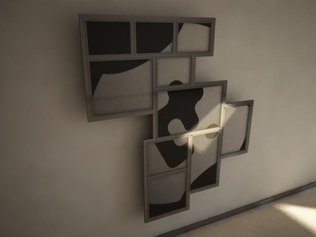 3d modern picture frames model