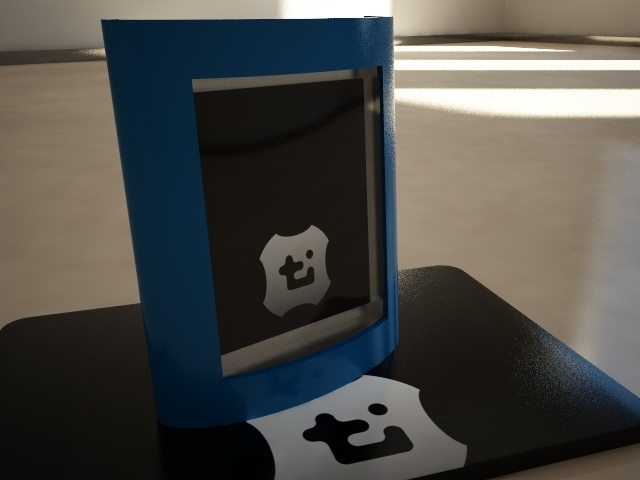 3ds max modern picture frame