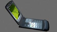 3d model cell phone