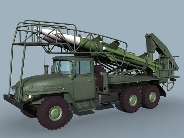 3d model ural sa-6 loader