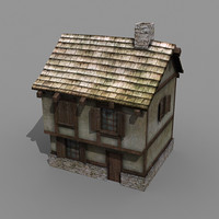 3d building rpg house model