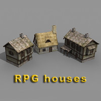 3ds max houses rpg