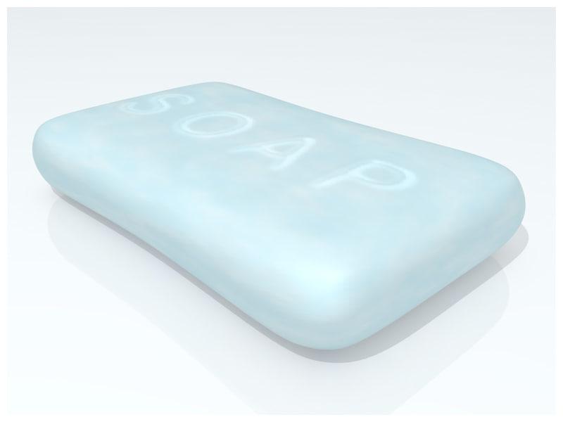 3d bar soap