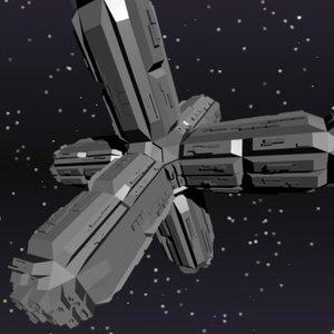 maya space station simple