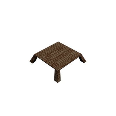 wooden table max free