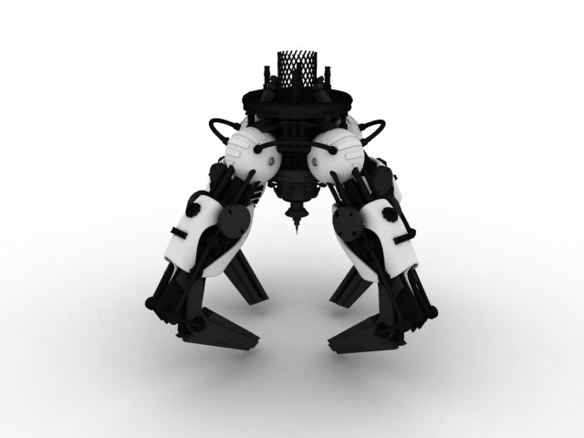 mechanical hand 3ds