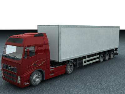 new truck 3d max