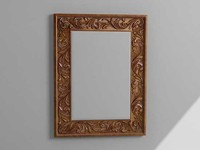 wall mirror picture frame 3d model