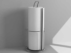paper towel holder 3d max