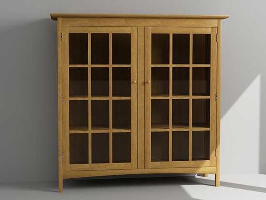 3dsmax bookcase cabinet