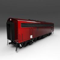 EMD F7 Passenger Wagon