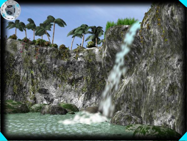 maya waterfall
