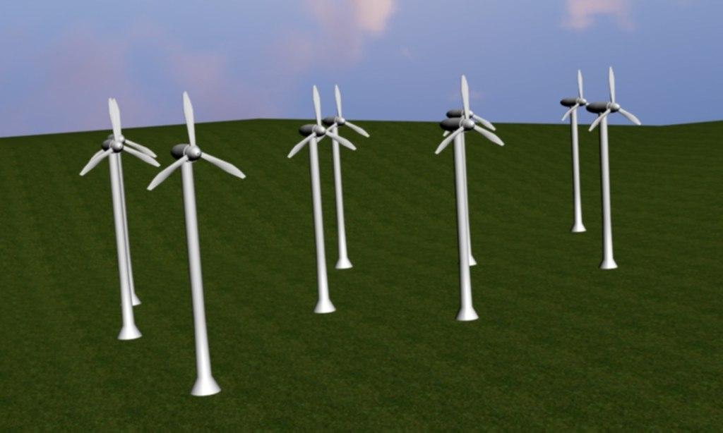 wind power 3d 3ds