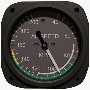 air speed instrument max