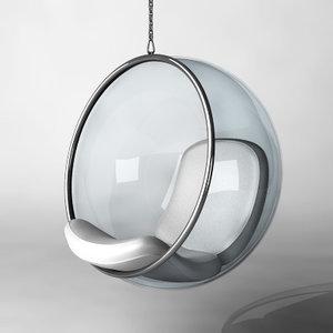 3d bubble chair