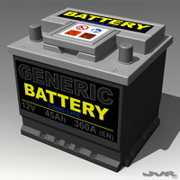 3ds generic car battery