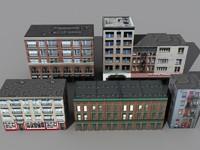 5 buildings b 3ds