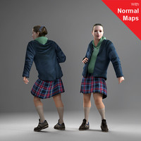 3ds max axyz human