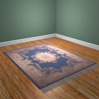 chinese rug c4d