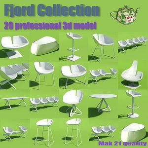 3d model moroso fjord