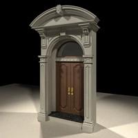 gothic entry door max