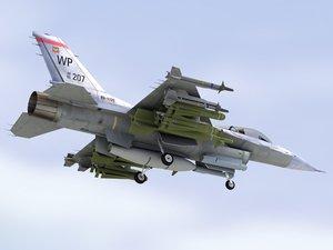 falcon usaf 3d max