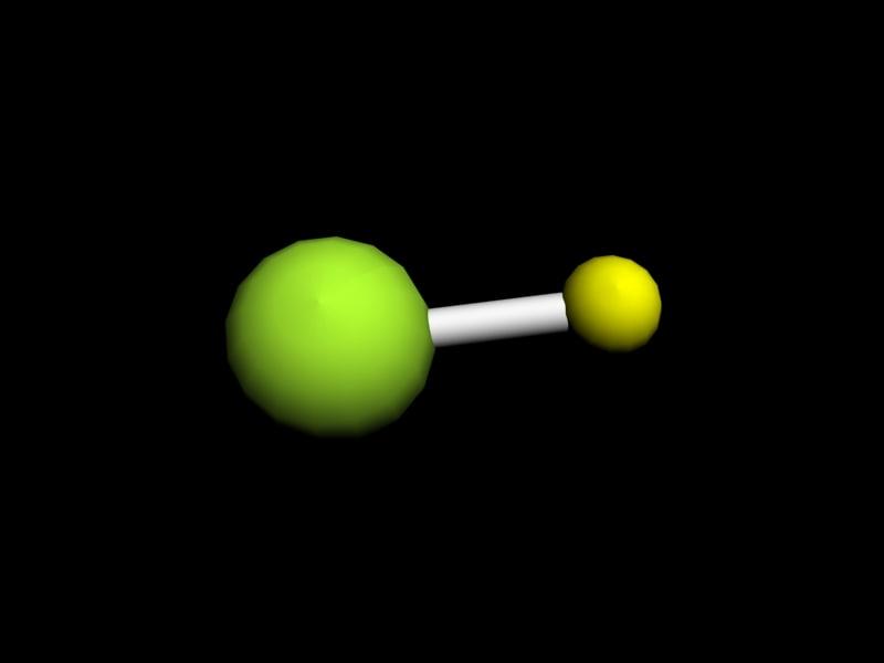 hydrogen halide 3d max