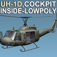 Chopper -Iroquois-Cockpit_Inside