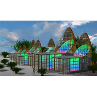 3d modern building new caledonia model